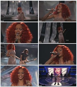 Rihanna - California King Bed (Live at American Idol)