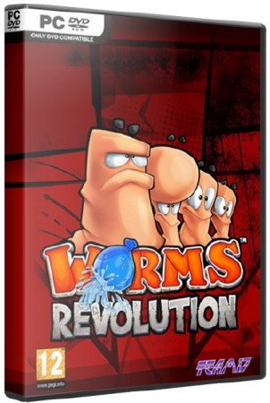 Worms Revolution (Multi8+) (RePack,1.0.103 + 4DLC) 2012