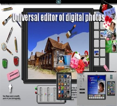 Universal editor of digital photos