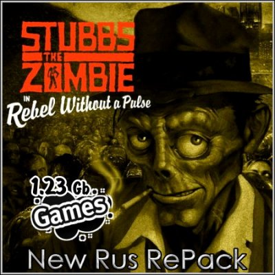 Stubbs the Zombie in Rebel Without a Pulse (New Rus RePack)