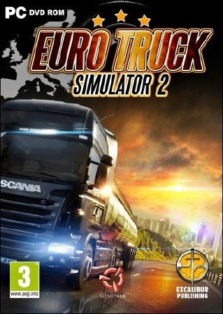 Euro Truck Simulator 2 [v 1.4.1s] (2012/PC/RUS) Steam-Rip