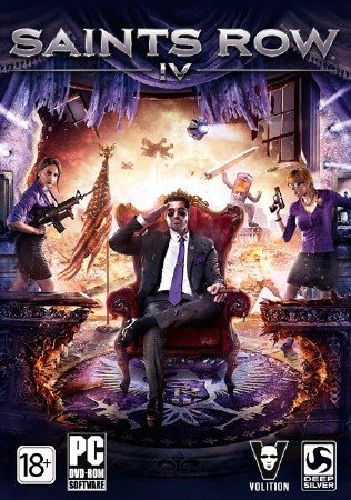 Saints Row IV + 4 DLC (2013/Eng/MULTi6/PC) Steam-Rip
