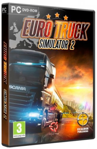 Euro Truck Simulator 2: Gold Bundle (2013/RUS/RePack by xatab)