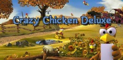 Crazy Chicken Deluxe / Куриная месть v2.6.3 (2014/Android)